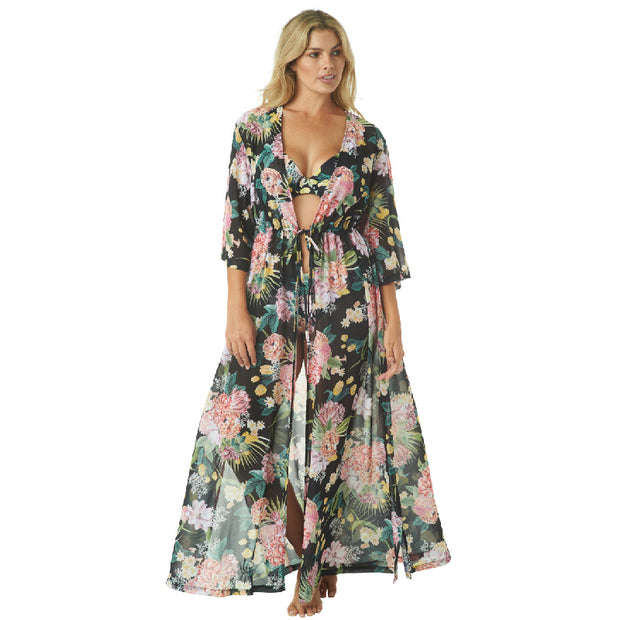 ISN'T IT ROMANTIC KIMONO COVERUP