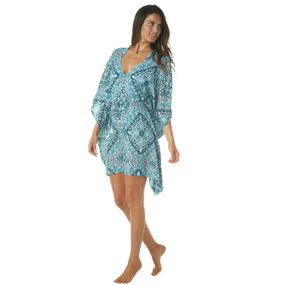 MARVELOUS MEDALLION KAFTAN COVERUP