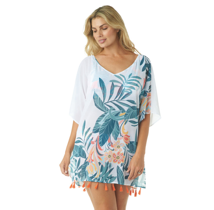 RAINFOREST V-NECK TUNIC