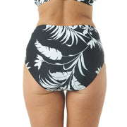 TROPICAL SILHOUETTE HIGH WAIST BOTTOM