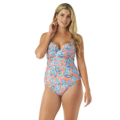 PERSEPHONE FLORAL UNDERWIRE TANKINI TOP