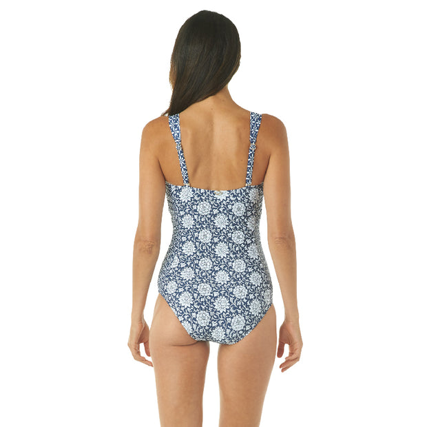 MIXED DRINK BANDEAU ONE PIECE
