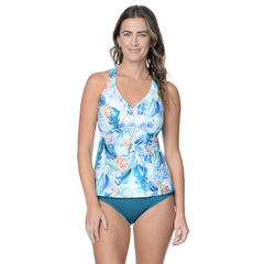 ISLAND DREAM D/DD TANKINI TOP