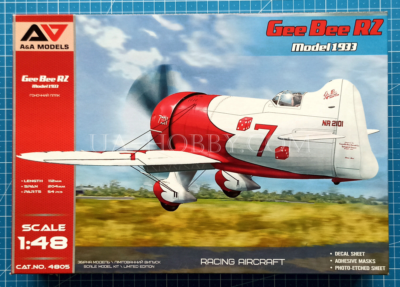 1/48 Gee Bee R2 Model 1933. A&A Models 4805