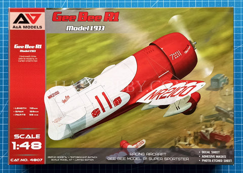 1/48 Gee Bee R1 Model 1933. A&A Models 4807