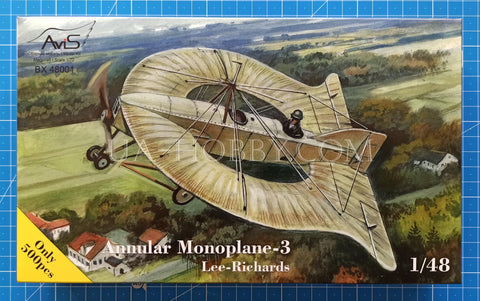 1/48 Lee-Richards Annular Monoplane-3. AviS BX 48001