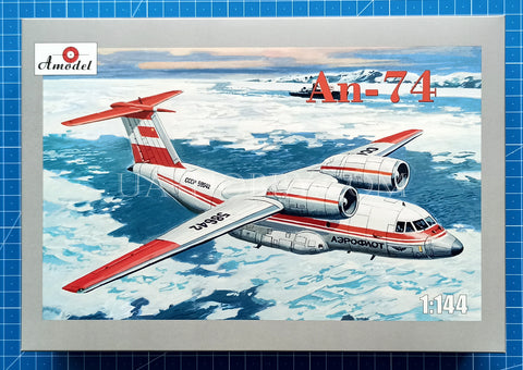 1/144 Antonov An-74 Polar Aviation. Amodel 1421