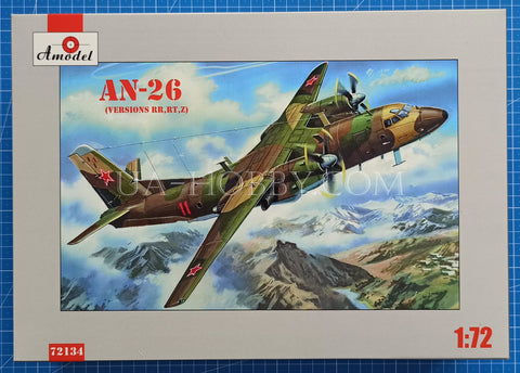 1/72 An-26 (Versions RR, RT, Z). Amodel 72134