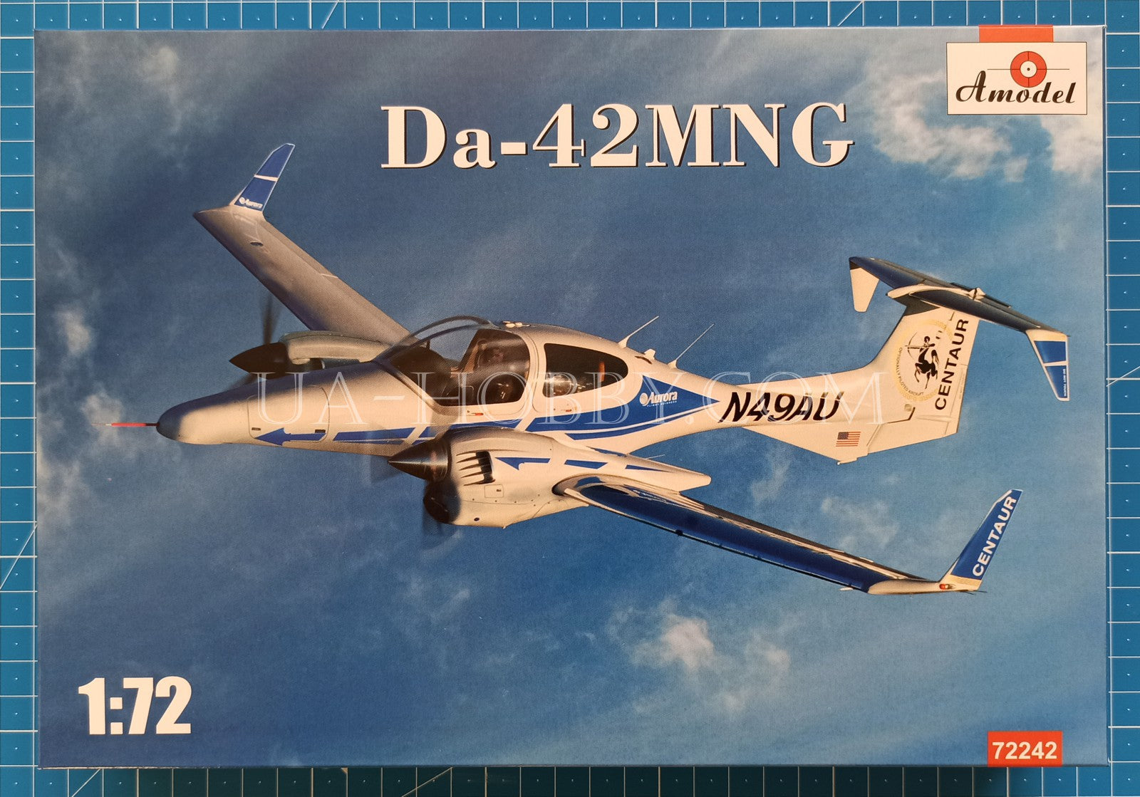 1/72 Diamond Da-42MNG. Amodel 72242