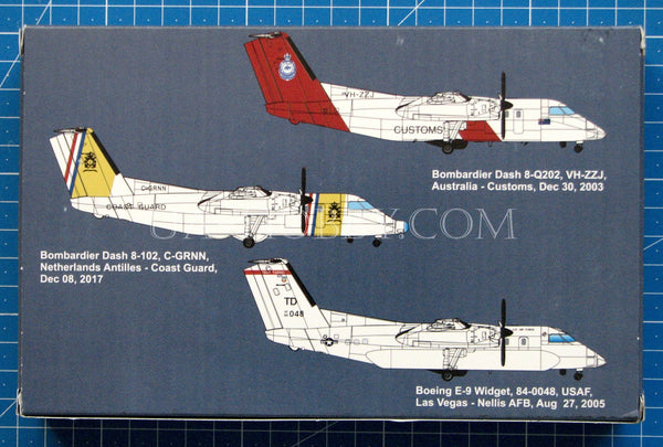 1/144 E-9A Widget | DHC-8-106 Dash 8 Caribbian Coast Guard. AMP 144-003