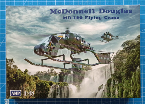1/48 McDonnell Douglas Model 120 Flying Crane. AMP 48015