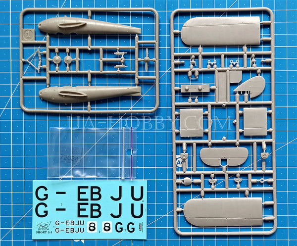 "1/72 Short S.4 Satellite ""Parkers Tin Kettle"". AviS BX 72034"