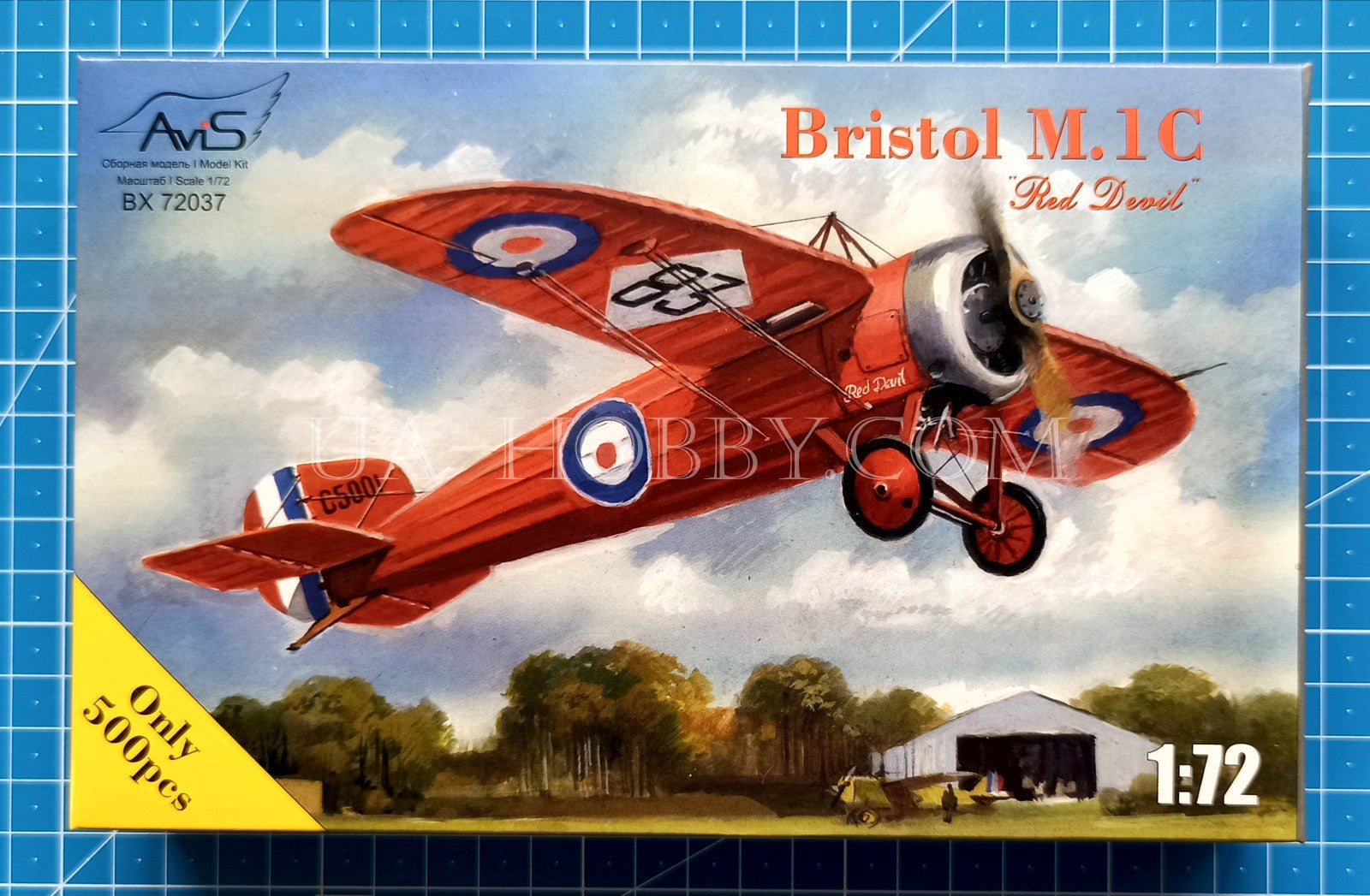 "1/72 Bristol M1C ""Red Devil"". AviS 72037"