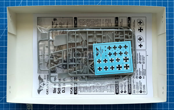 1/72 Siemens-Schuckert D.I Early. Bat Project 72006