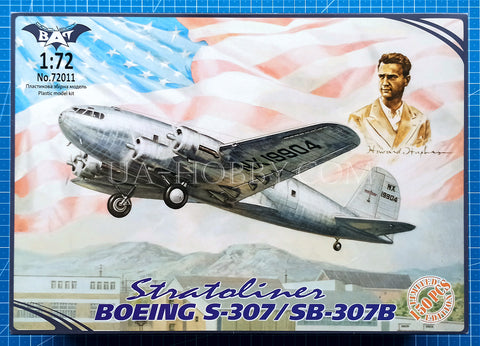 1/72 Boeing S-307/SB-307B Stratoliner. Limited Edition, 1 of 150pcs. Bat Project 72011.