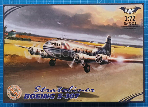 1/72 Boeing S-307 Stratoliner. Limited Edition, 1 of 150pcs. Bat Project 72012.