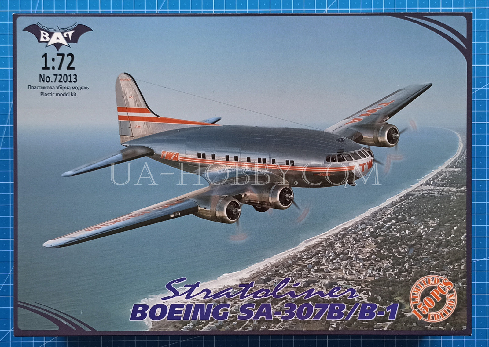 1/72 Boeing SA-307B/B-1 Stratoliner. Limited Edition, 1 of 150pcs. Bat Project 72013.