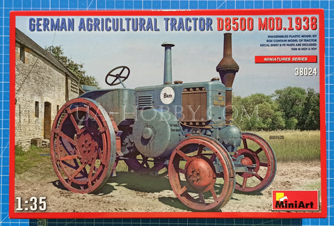 1/35 German Agricultural Tractor D8500 Mod.1938. MiniArt 38024