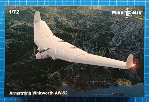 1/72 Armstrong Whitworth AW.52. MikroMir 72-016