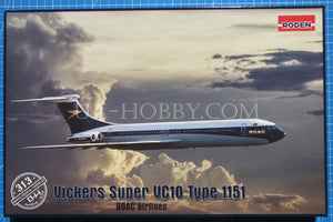 1/144 Vickers Super VC10 Type 1151. Roden 313