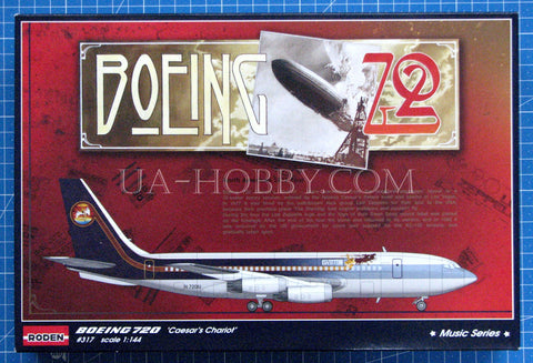1/144 Boeing 720 Starship One ★Music Series★. Roden 314