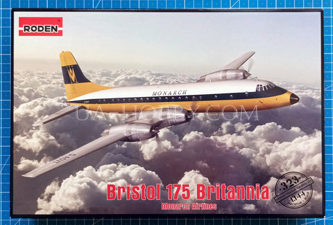 1/144 Bristol 175 Britannia Monarch Airlines. Roden 323