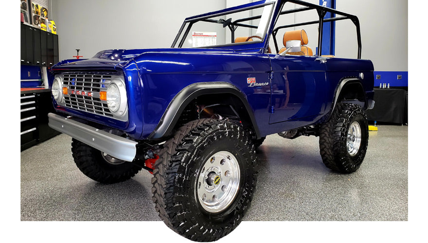 SEMA Garage 1966 Ford Bronco Restomod for Charity