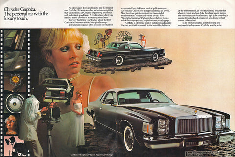 1979 Chrysler Cordoba Brochure