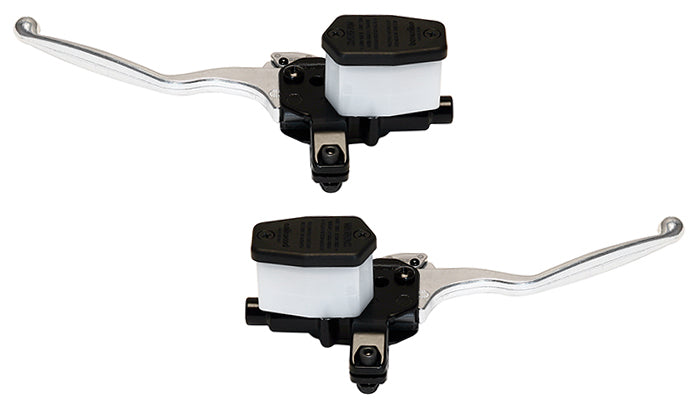 Handlebar Master Cylinders with long alloy lever