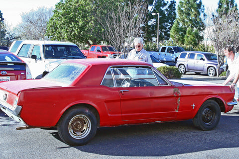 Wilwood Workhorse Mustang arrives at the shop
