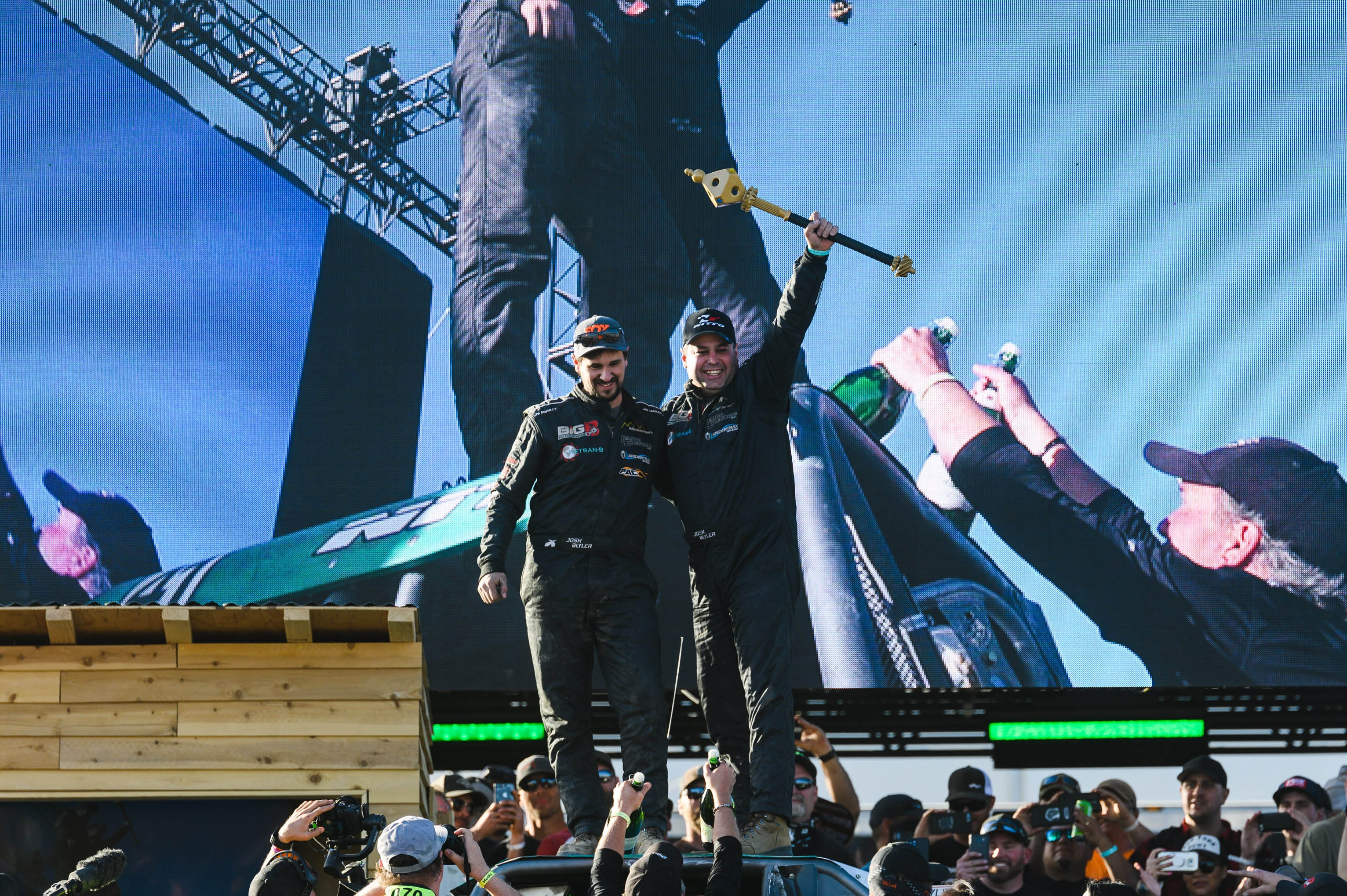 King of the Hammers 2020 winners celebrate