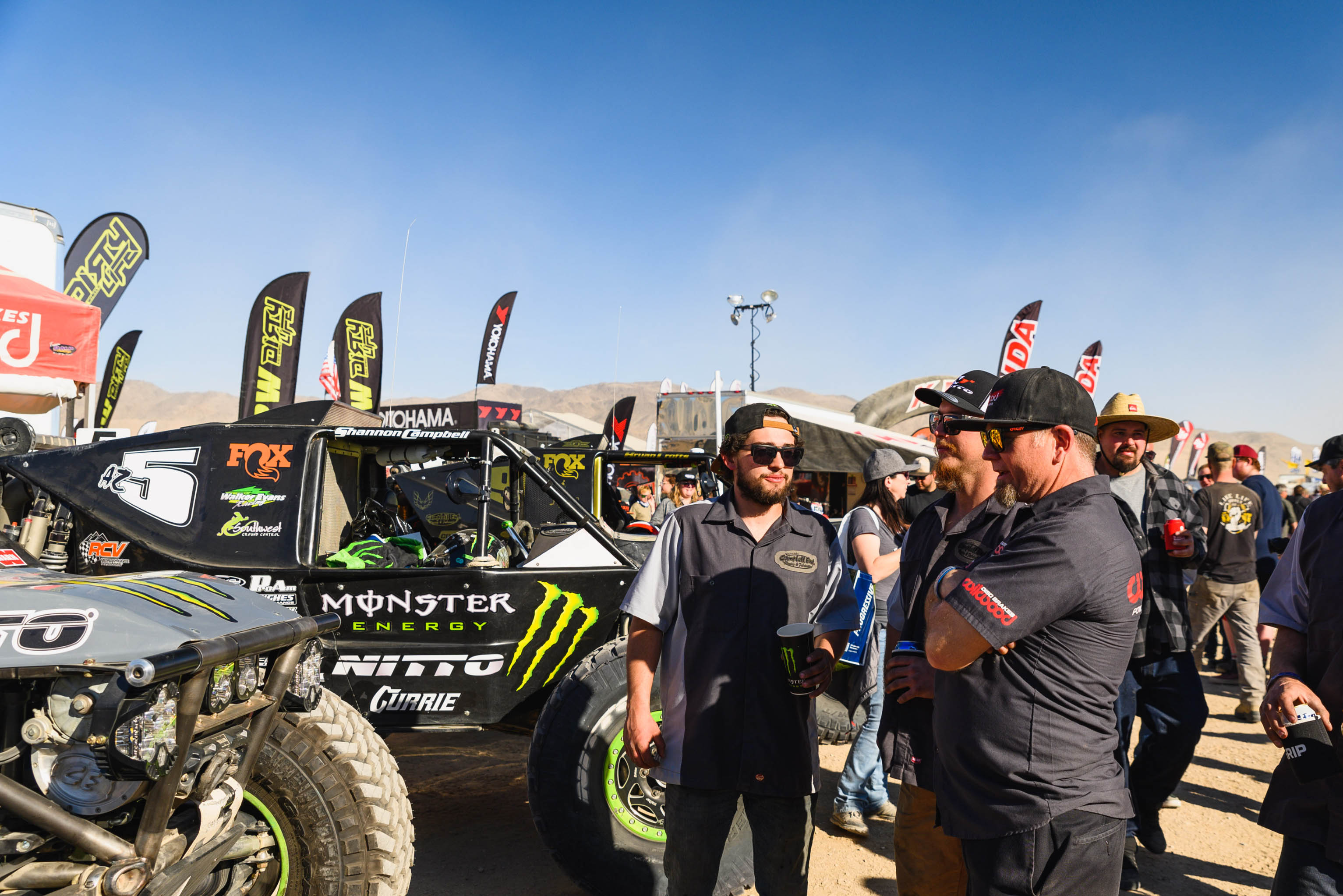 King of the Hammers meeting with Campbell Enterprises