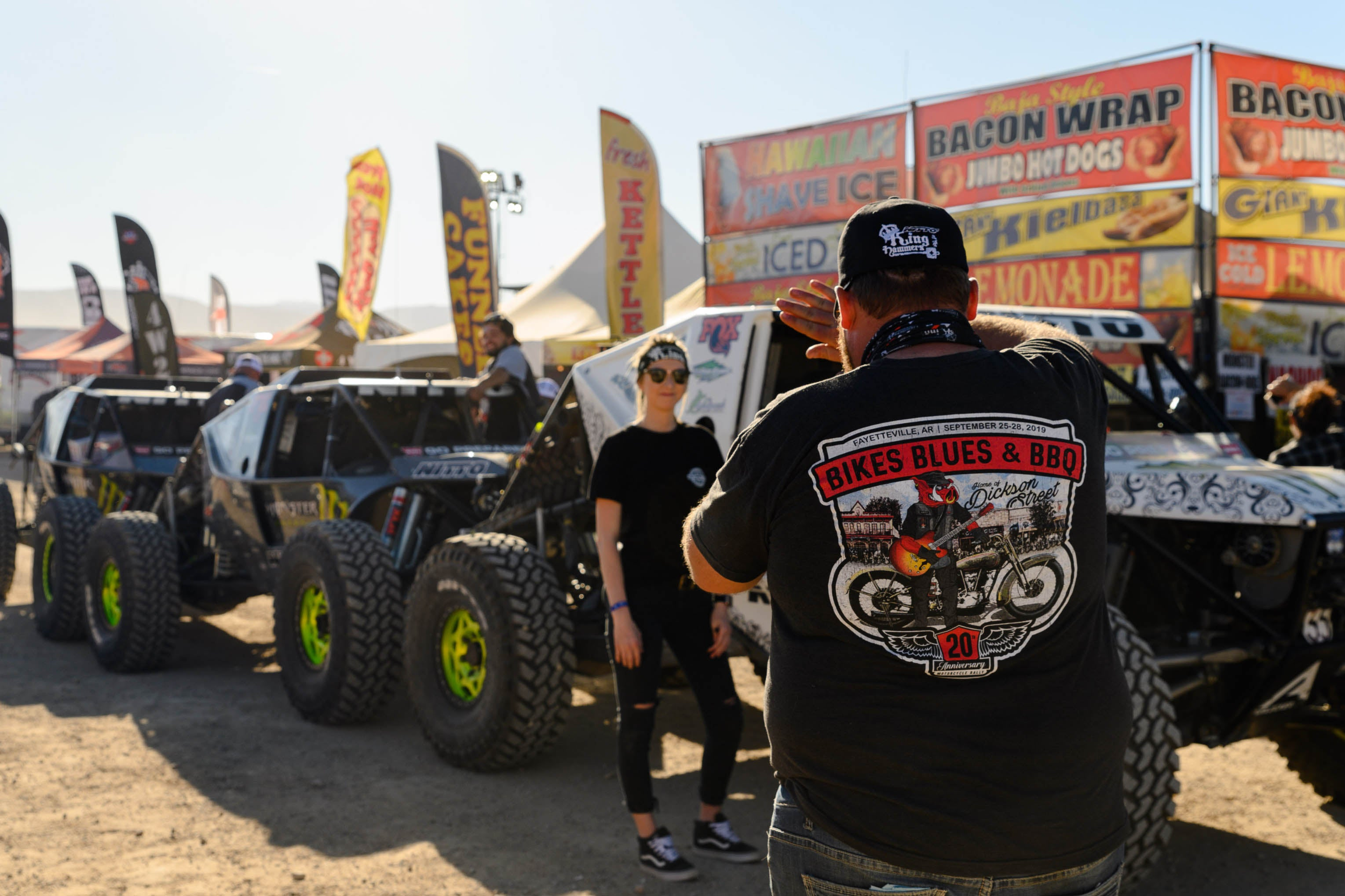 King of the Hammers pre-race inspection