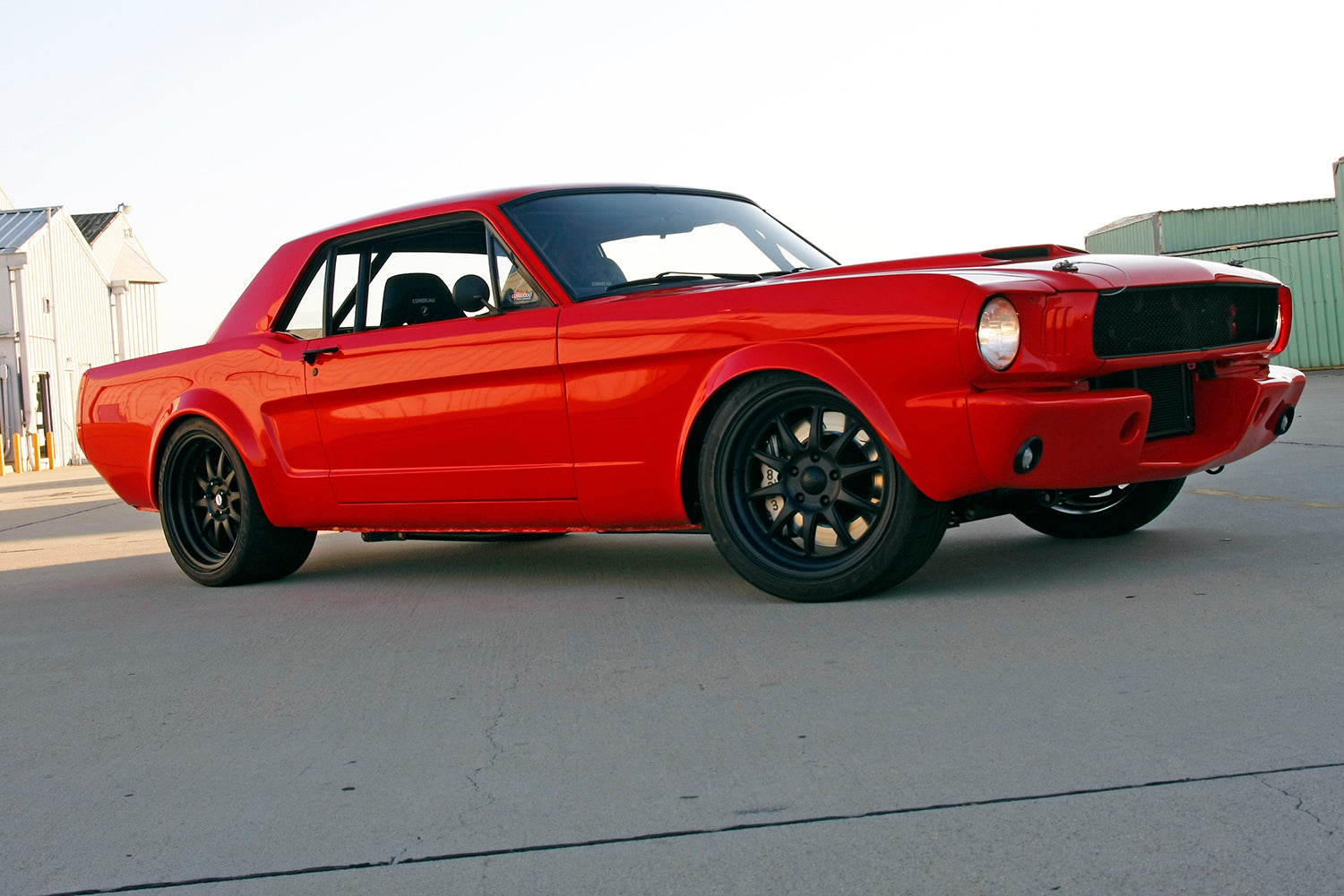 Wilwood 1966 Ford Mustang Project Workhorse