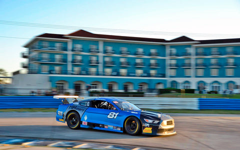 Thomas Merrill leading Sebring 2020