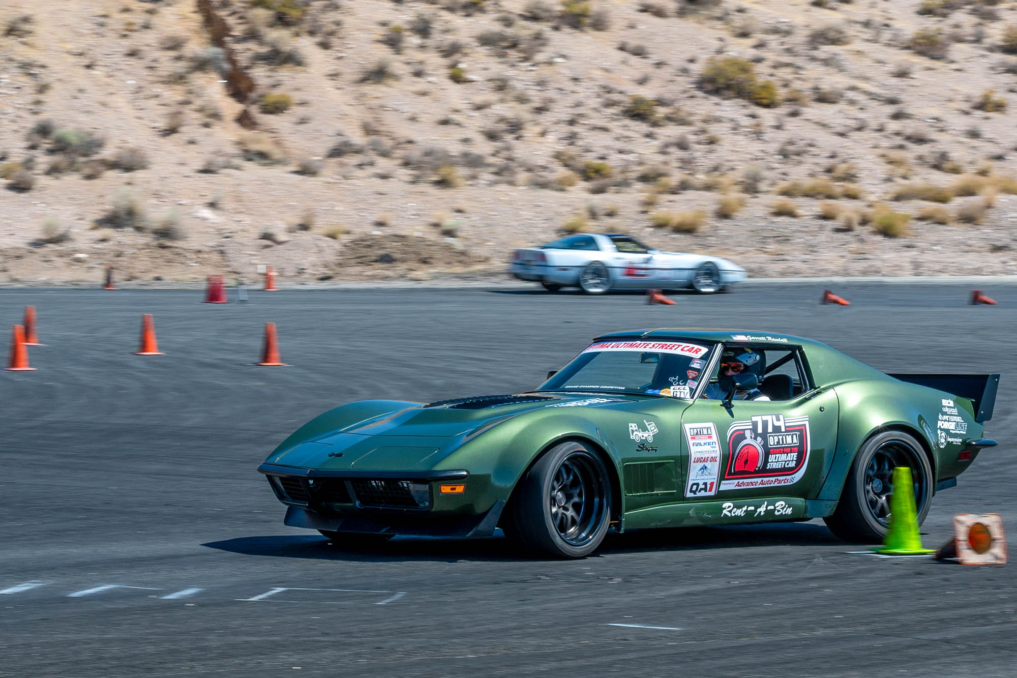 Ultimate Street Car 1970 and 1985 Chevy Corvettes