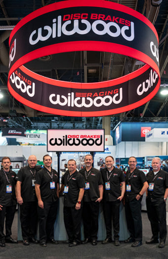 Wilwood Disc Brakes Trade Show booth SEMA Show 2019