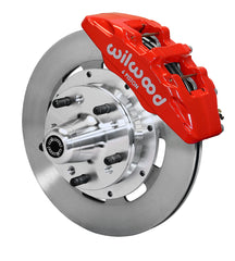 Wilwood Forged Dynapro 6 Big Brake Front Brake Kit 140-10740