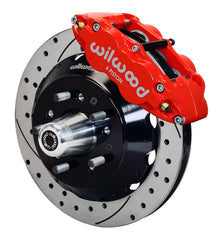 Wilwood Forged Narrow Superlite 6R Big Brake Front Brake Kit 140-10816