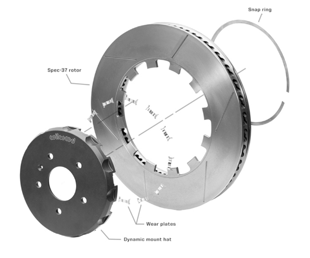 Wilwood's Dynamic Mount Lug-Drive Rotor and Hat
