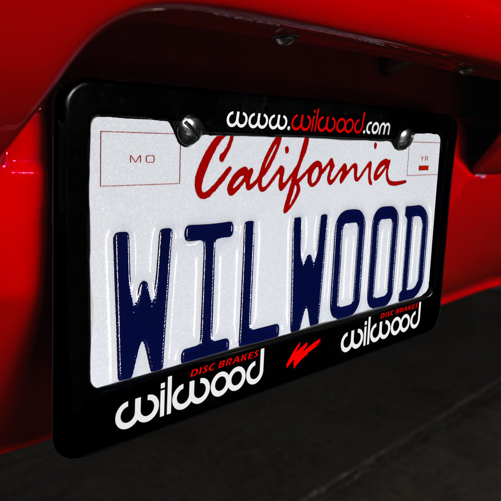 Wilwood License Plate Frame