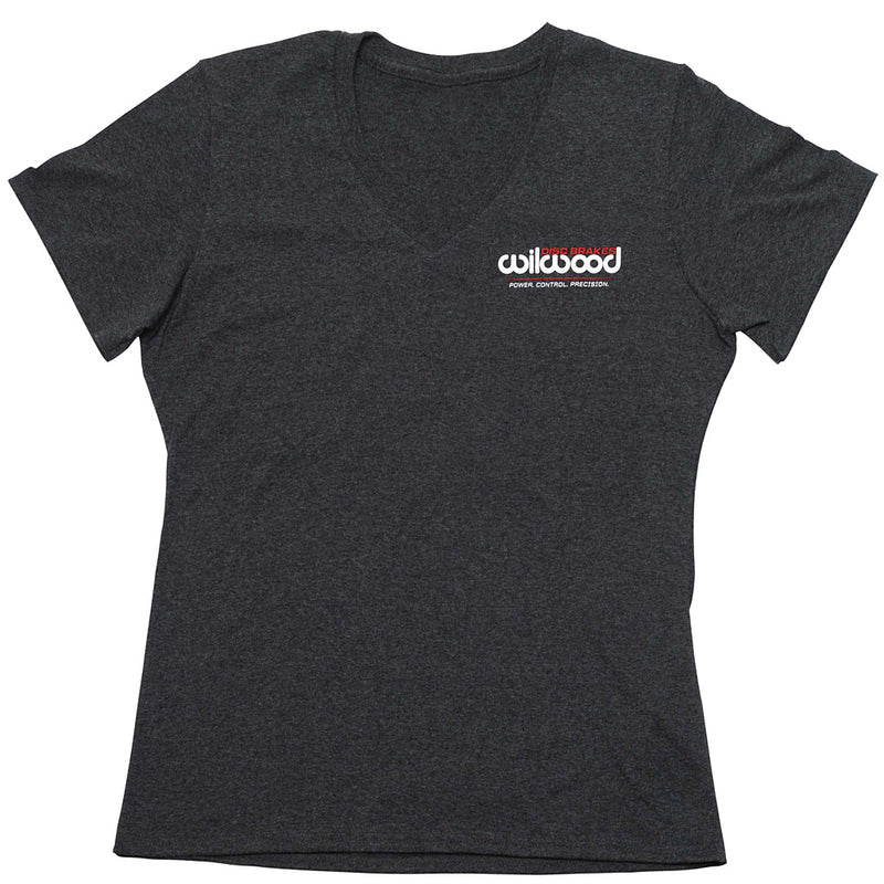 Women's V-Neck T-Shirt - Dark Grey