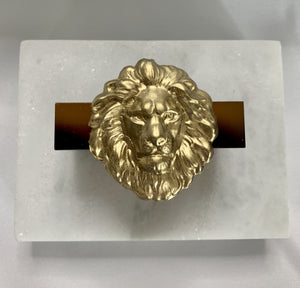 LION NAPKIN RINGS