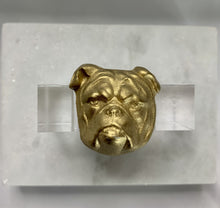 Load image into Gallery viewer, BULLDOG NAPKIN RINGS