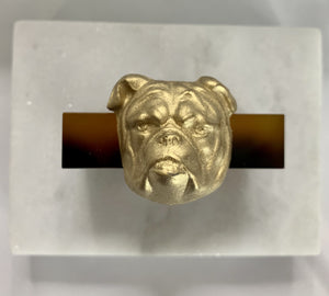 BULLDOG NAPKIN RINGS