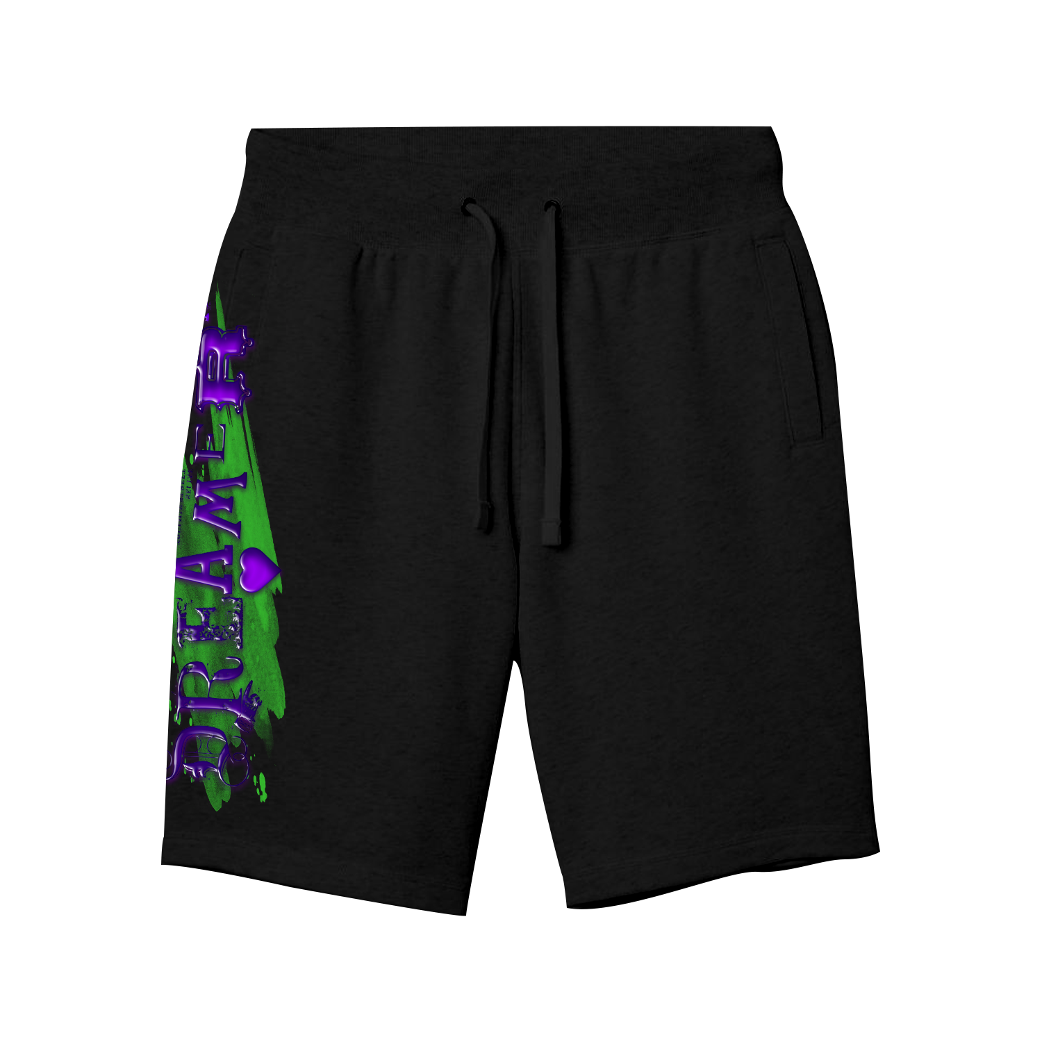 Slime Dreamers Shorts in Black