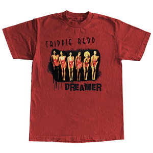 Showtime Tee in Red + Pegasus Digital Album
