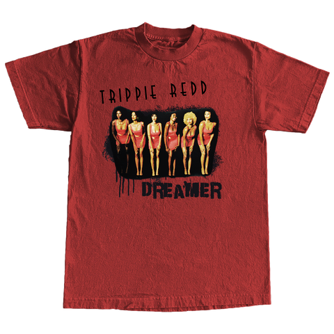 Showtime Tee in Red