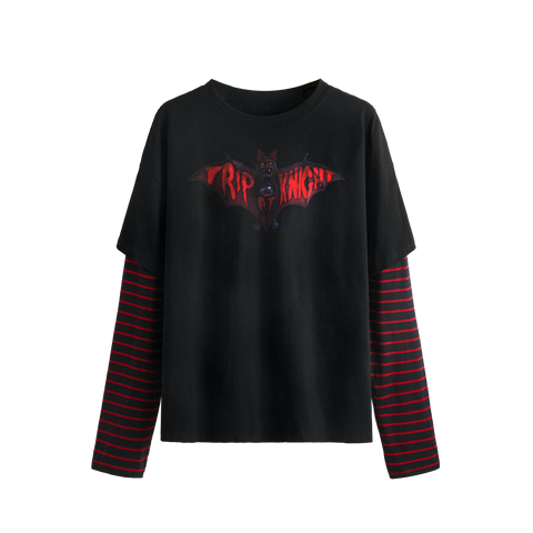 Trip At Knight Double Layer Long Sleeve