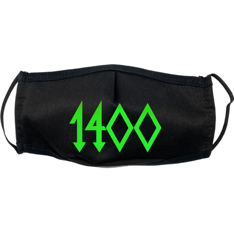 1400 Mask in Neon Green